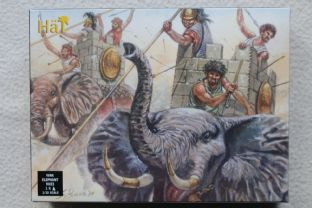 HaT 1/32 HAT9023 Carthaginian War Elephant (Ancients)